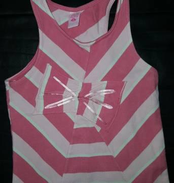 Camiseta listras rosas - 6 anos - Lilica Ripilica
