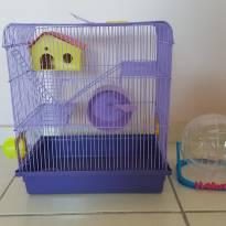 Gaiola Hamster com brinquedos -  - Variadas