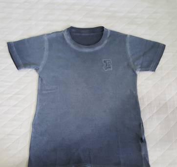Blusa Tigor azul acinzentada - 8 anos - Tigor T.  Tigre