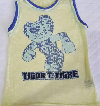 Camiseta Tigor - 4 anos - Tigor T.  Tigre