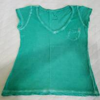 Blusa Dress verde - 6 anos - Dress Kids