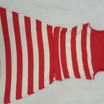 Vestido listras vermelho LeLis - 10 anos - Le Lis Petit