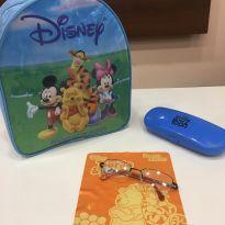 Armação Óculos Infantil Pooh Po1 2138 C57 Preto E Laranja -  - Disney