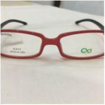 Armação Óculos Infantil Red Loose Acetato Vermelho -  - Não informada