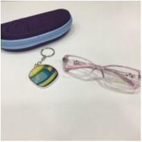 Armação Óculos Infantil Seninha 2701 5066 Acetato Rosa Menina -  - Não informada