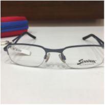 Armação Óculos Infantil Seninha 3627 6718 Azul Menino -  - Não informada