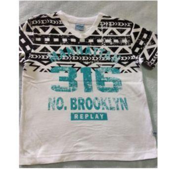 Camiseta - 6 anos - Abrange