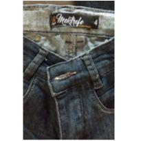 Calça Jeans - 4 anos - Mektrefe
