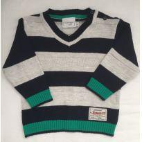 Suéter Listras - 12 a 18 meses - Noruega Baby