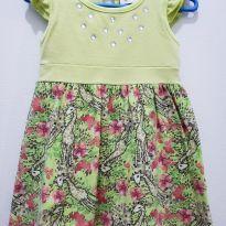 Vestido zebrinha - 6 a 9 meses - Fakini Kids