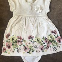 Lindo vestido com pérolas - 3 meses - Milon
