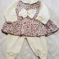 Saída de maternidade em plush - Recém Nascido - Carters - Sem etiqueta