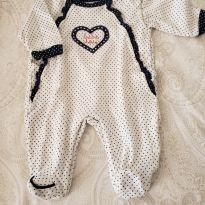 Macacão baby fashion M - 3 a 6 meses - Baby fashion