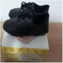 Sapato Social Preto n°20 - 20 - Sonho de Criança