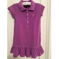 Vestido Ralph Lauren estonado - 2 anos - Ralph Lauren