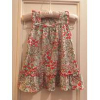 Vestido Bebe Baby Cottons - 3 meses - Baby Cottons