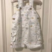Jardineira Baby Cottons - 3 a 6 meses - Baby Cottons