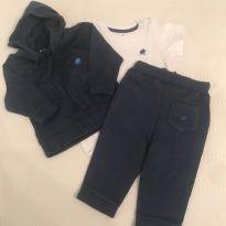 conjunto Baby Cottons/ 3 peças - 3 meses - Baby Cottons