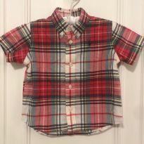 Camisa Xadrez Ralph Lauren - 9 meses - Ralph Lauren