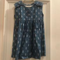 Vestido Jeans Guess abacaxi - 3 anos - Guess