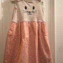 Vestido Gap Gatinho - 4 anos - GAP