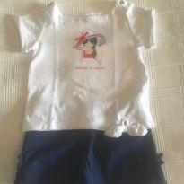Conjunto Janie and Jack /Carters Short Camista - 4 anos - Janie and Jack e Carter`s