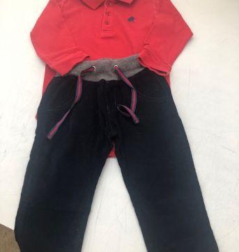 Conjunto Baby Cottons - 12 a 18 meses - Baby Cottons e GAP