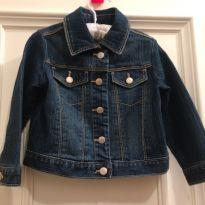 Jaqueta Jeans Old Navy - 18 a 24 meses - Old Navy