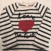 Camiseta manga longa Zara - 3 anos - Zara