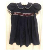 Vestido com bordados - 12 a 18 meses - Couture Princess
