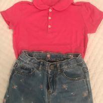 Calça jeans /polo Gap - 5 anos - GAP e OshKosh