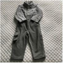 Conjunto Body Camisa Carters /Calça Silmara - 1 ano - Carter`s e Silmara