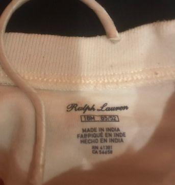 Conjunto Ralph Lauren - 18 meses - Ralph Lauren