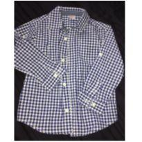 Camisa xadrez - 3 anos - Gymboree