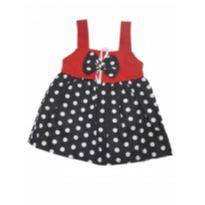 vestido menina de bolinha ref 73 - Recém Nascido - Não informada