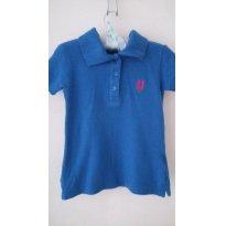 Camiseta Azul Polo - 2 anos - Polo wear