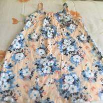Vestido estampado com alça - 1 ano - Pipa