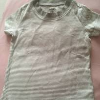 Camiseta listrada Carter's - 3 meses - Carter`s