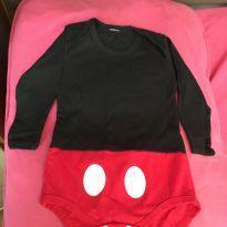 Body Mickey - 3 meses - Não informada