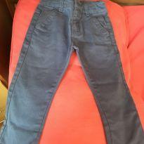 Calça azul sarja Carinhoso - 2 anos - Carinhoso