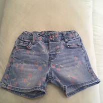 Shorts jeans Zara Baby - 12 a 18 meses - Zara Baby