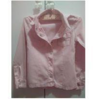 Camisa Rosa - 3 anos - Não informada