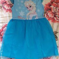 Vestido Frozen - 8 anos - Disney