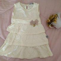 Vestido arte menor Tam G - 9 a 12 meses - Arte Menor