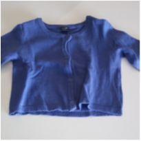 Casaquinho BabyGap Azul - 12 a 18 meses - Baby Gap