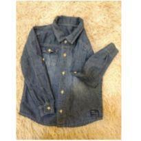 Camisa jeans manga longa - 6 anos - Não informada ( Replica)