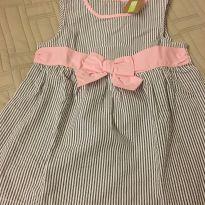 Vestido de listrinhas - 5 anos - Crazy 8