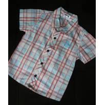 Camisa Xadrez - 1 ano - DNM