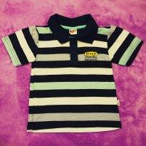 Camisa Pólo Menino Listrada - Kiko - 2 anos - Kiko