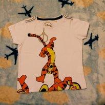 Camiseta Tigrão - Disney - 1 ano - Disney baby